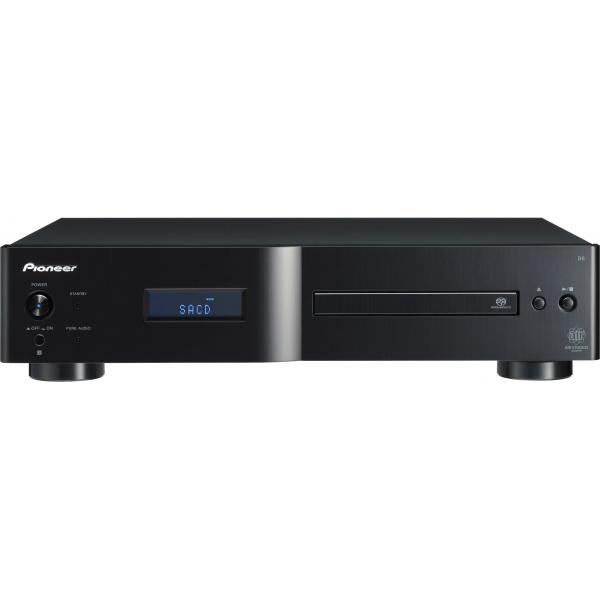 Pioneer PD-D6-MK2-K Lector CD y SACD. MP3. Mando a distancia, salida digital.