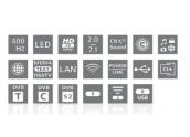 Loewe Individual 32 Compose LED 3D Nuevo modelo Televisión 3D 400Hz Disco Duro 5