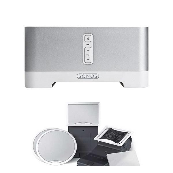 Sonos Connect Amp y Bose 191 altavoces empotrar