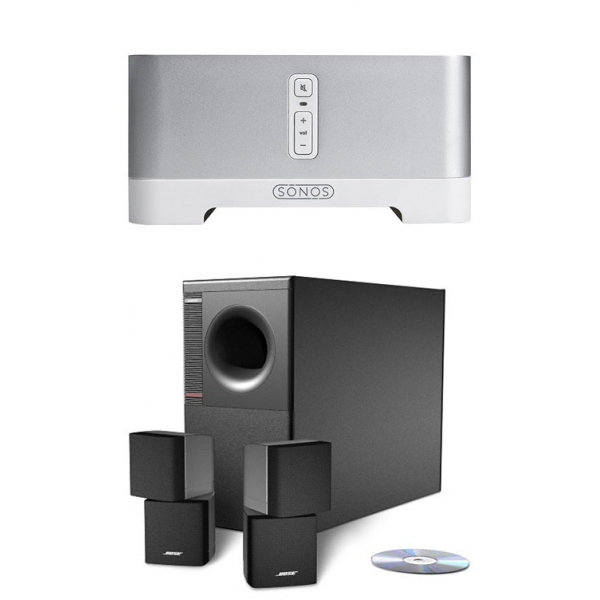 Sonos Connect Amp + Bose Acoustimass 3