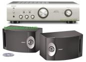 Equipo de sonido Denon PMA520 + Bose 201 SV