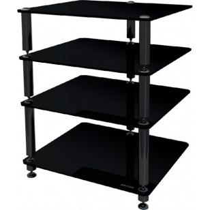 Norstone Bergen II mueble equipo de sonido HIFI 4 estantes