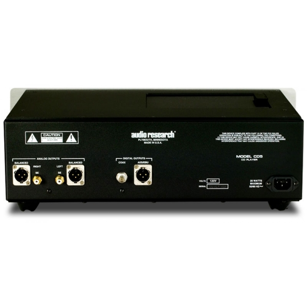 Audio Research CD 5 Lector CD. Circuiteria de grado audiofilo. Mando a distancia