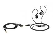 Sennheiser MM 80i Travel auriculares cancelación de ruido y control de funciones