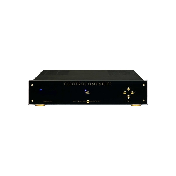 Electrocompaniet EC 4.7 Preampllificador estereo. Entradas RC/XLR. Mando a dista