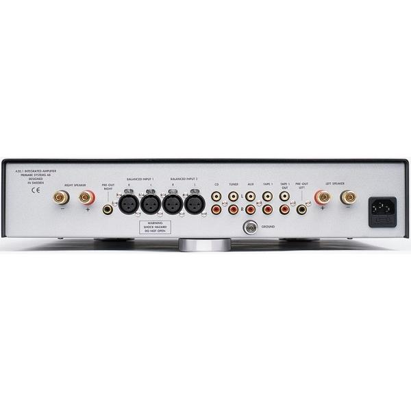 Amplificador integrado2x150 w. Toma frontal para audio portatil. Mando a distan