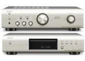 Equipo de sonido Denon DCD-520AE y PMA-520AE conjunto compuesto por amplificador